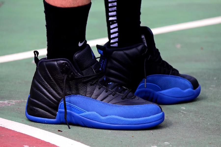 promo code 82fb1 01ad6 On-Feet Look At The Upcoming Air Jordan 12 Game Royal ...