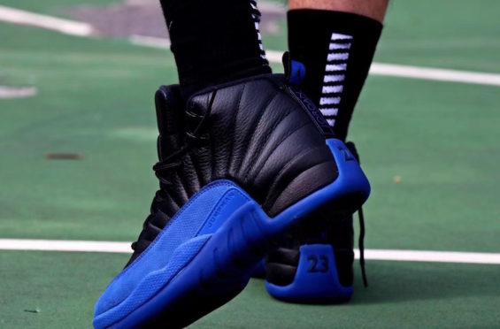 On Feet Look At The Upcoming Air Jordan 12 Game Royal
