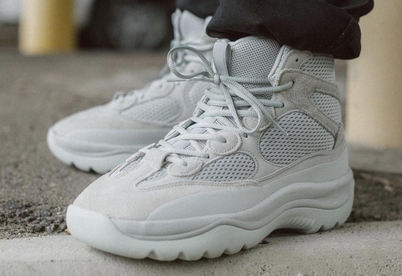 check out 5c4f6 fe8f3 Where To Buy The Adidas Yeezy Desert Boot Salt • KicksOnFire.com