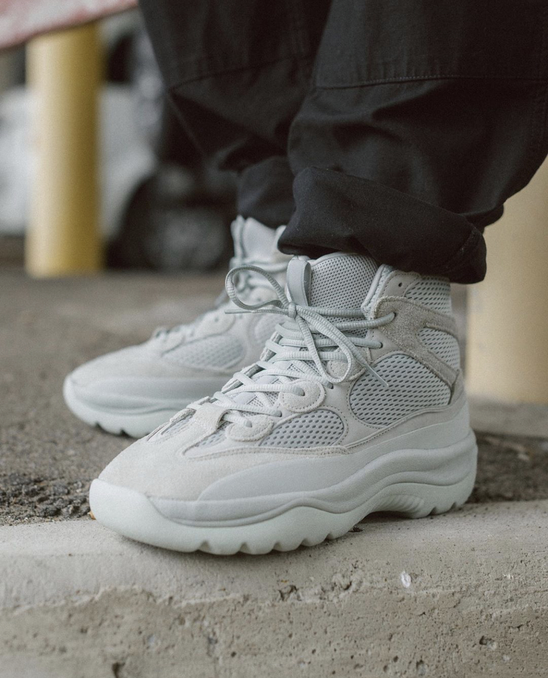 Where To Buy The Adidas Yeezy Desert Boot Salt • KicksOnFire.com