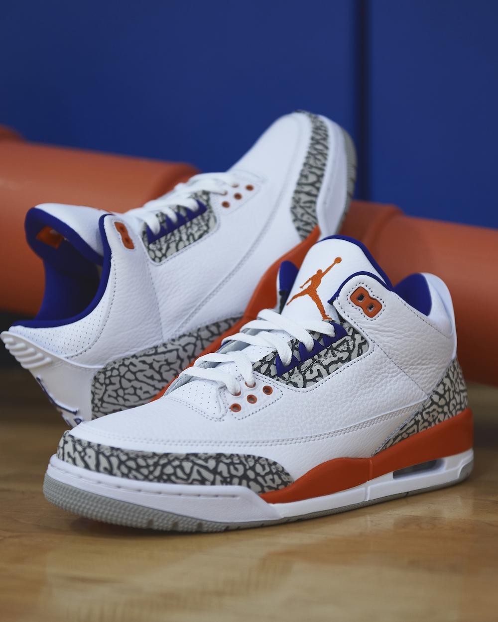 quality design 70051 358d6 Air Jordan 3 Knicks Rivals • KicksOnFire.com