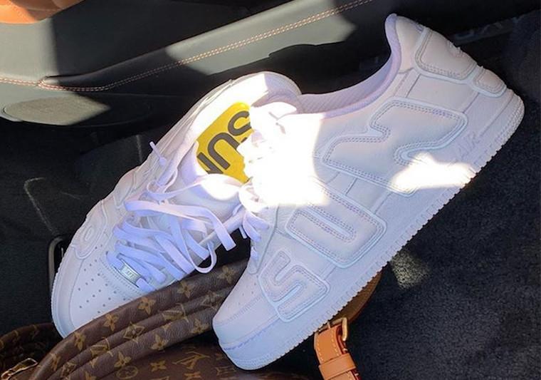Travis Scott Previews Upcoming Nike Air Force 1 Low