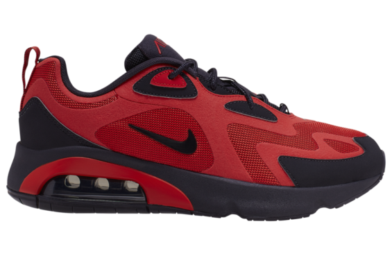 Look Out For The Nike Air Max 200 Red Black • KicksOnFire.com