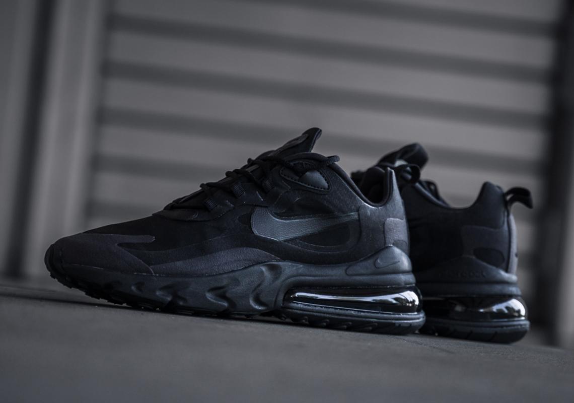 The Nike Air Max 270 React Is Releasing In Triple Black • KicksOnFire.com