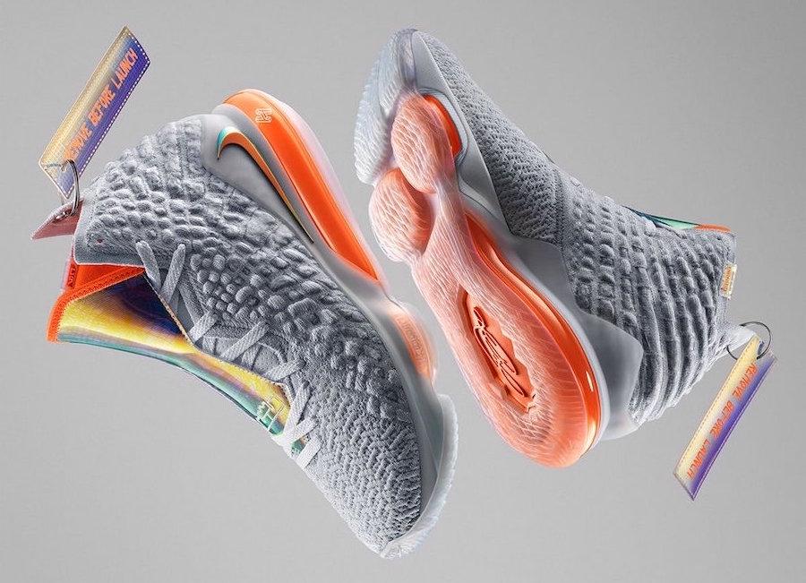 First Look At The Nike LeBron 17 Future Air • KicksOnFire.com
