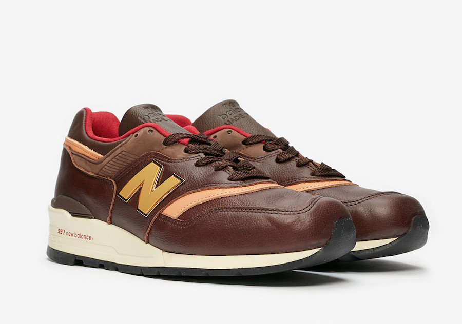 Coming Soon: New Balance 997 Brown Horween Leather • KicksOnFire.com