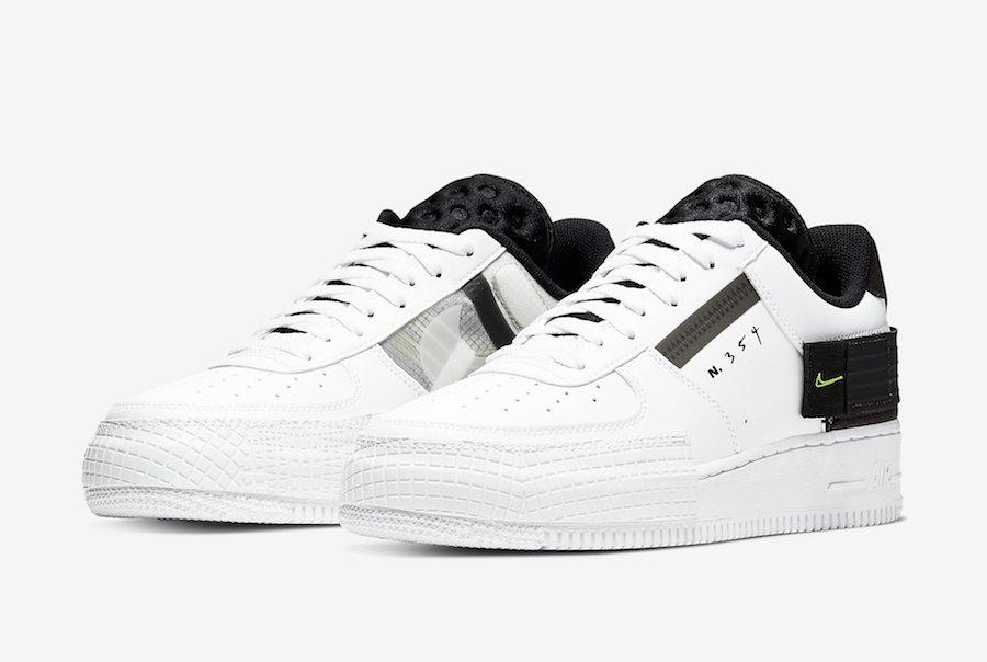 Nike Air Force 1 Low Type White Black