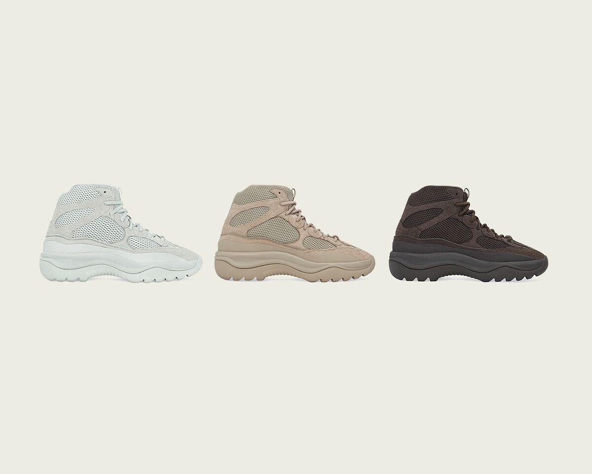 adidas Yeezy Desert Boot Salt, Rock