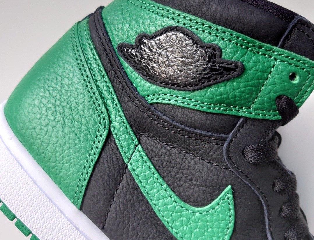 vegetariano spiegare estinzione  Get A Closer Look At The Air Jordan 1 Retro High OG Pine Green Gym Red •  KicksOnFire.com