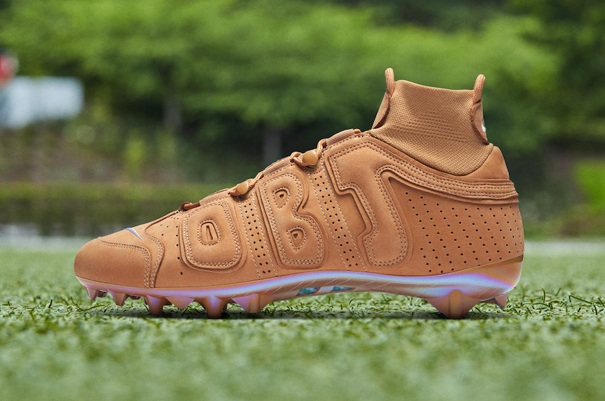 Odell Beckham Jr.'s Uptempo Cleat Is