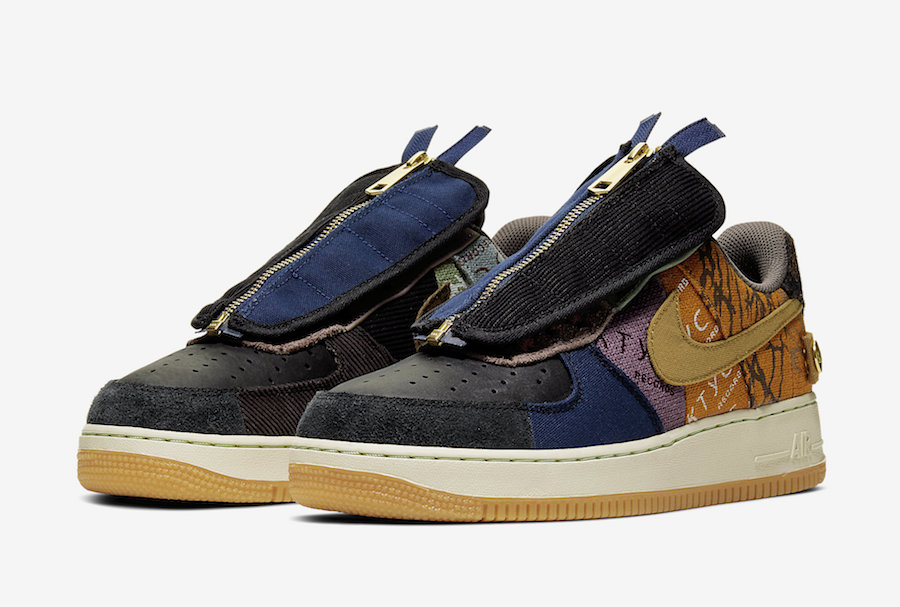 Official Images Release Date Travis Scott X Nike Air Force 1