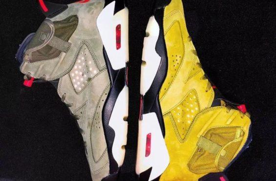 Travis Scott x Air Jordan 6 Yellow Cactus Jack Reportedly Dropping Next Year
