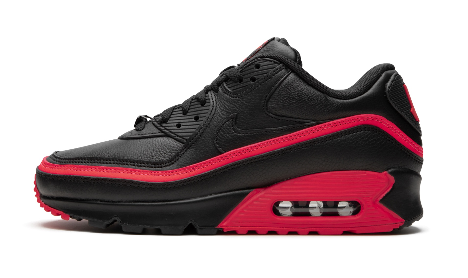 Look Out For The UNDEFEATED x Nike Air Max 90 Black Red