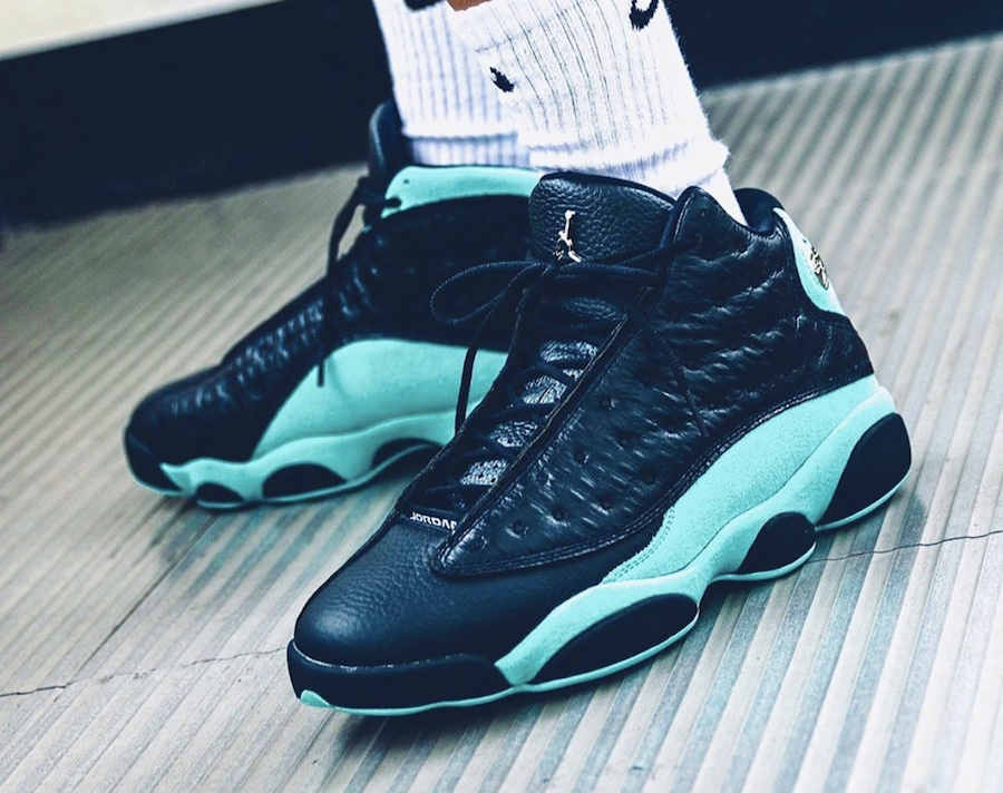 The Air Jordan 13 Island Green Release Date Has Been Pushed Up ...
