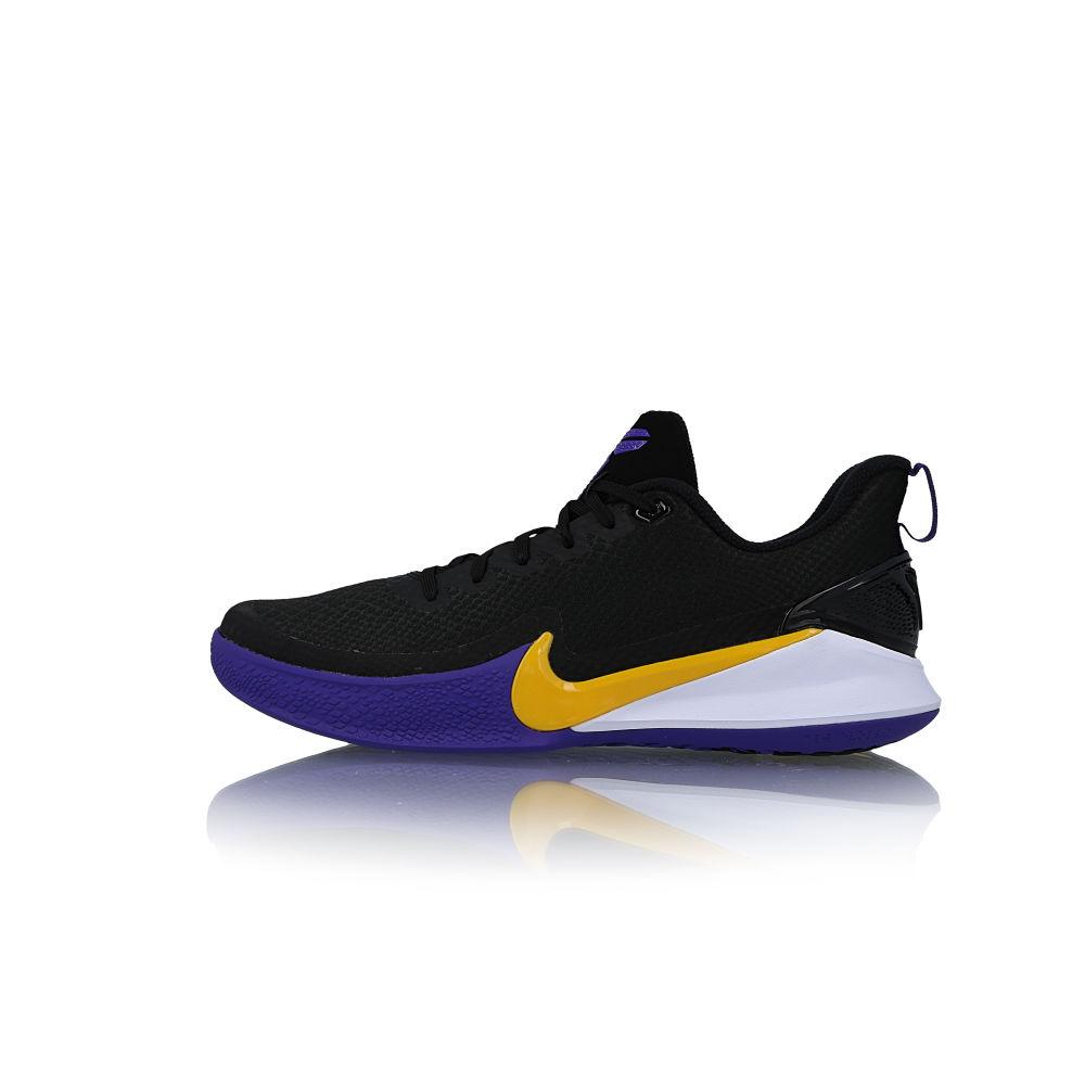 Check Out The Nike Mamba Focus Black Purple Amarillo • KicksOnFire.com