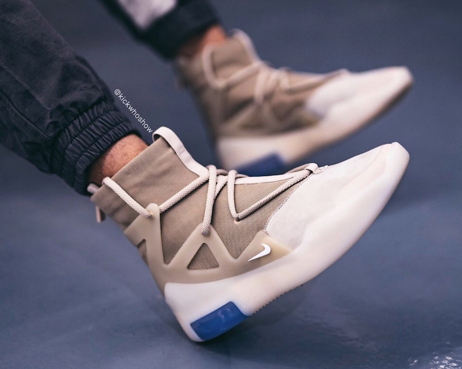 On-Feet: Nike Air Fear of God 1 Oatmeal