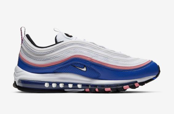 Nike Air Max 97 White Blue Pink