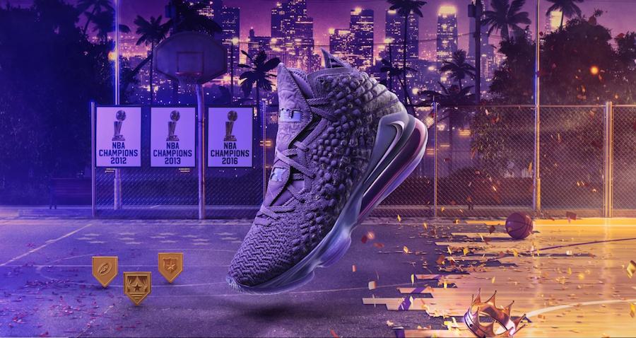 Nike LeBron 17 Bron 2K