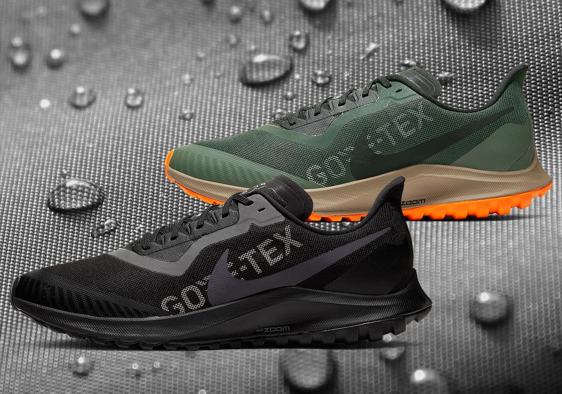 Release Date: Nike Air Zoom Pegasus 36 Trail GORE-TEX ...