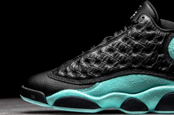 Detailed Images Of The Air Jordan 13 Island Green