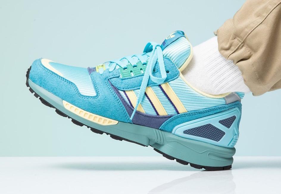 Look For The adidas ZX 8000 OG Light Aqua Now • KicksOnFire.com