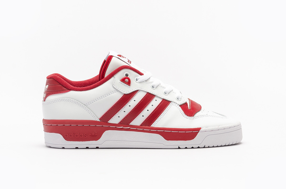 adidas Rivalry Low White Red