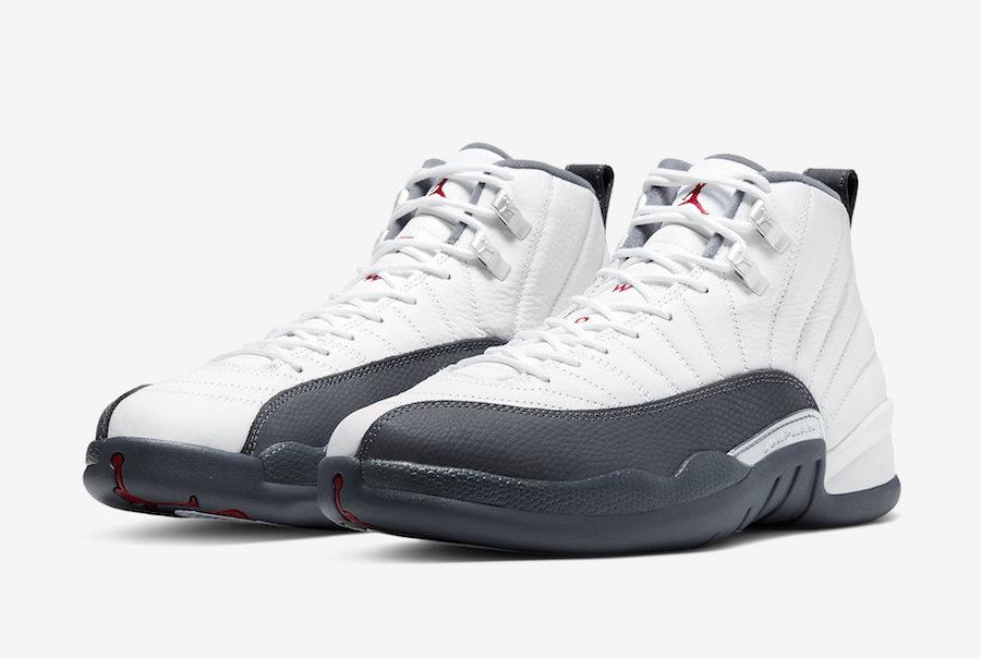 Jordans 12 Official Images: Air Jordan 12 White Dark Grey • KicksOnFire.com