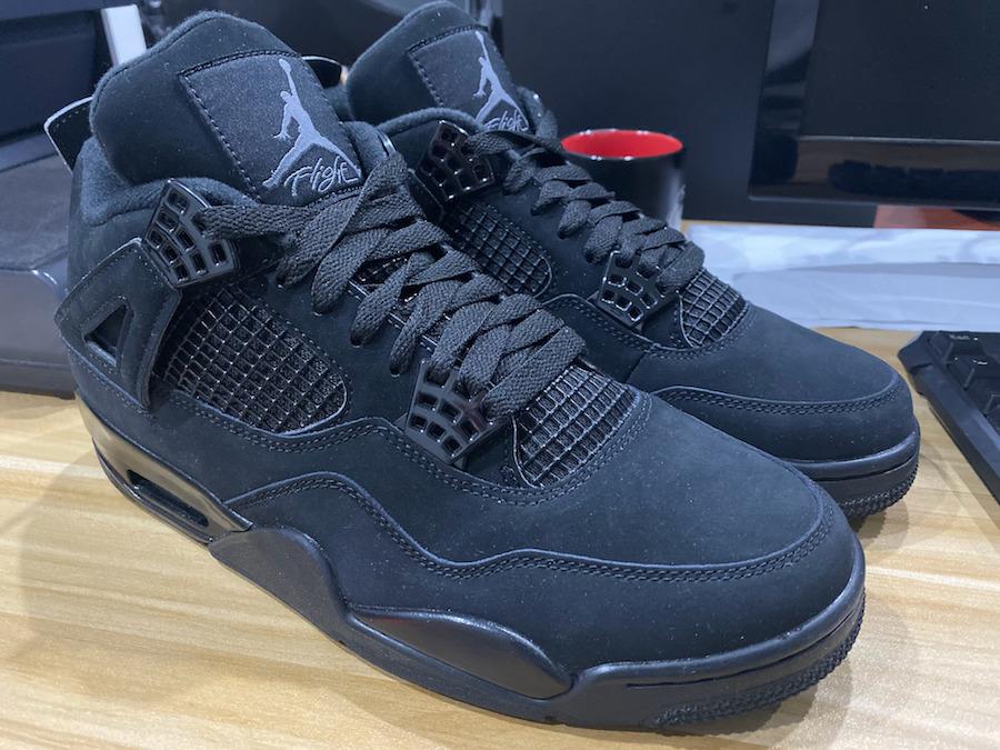 Your Best Look Yet At The Air Jordan 4 Black Cat 2020 • KicksOnFire.com