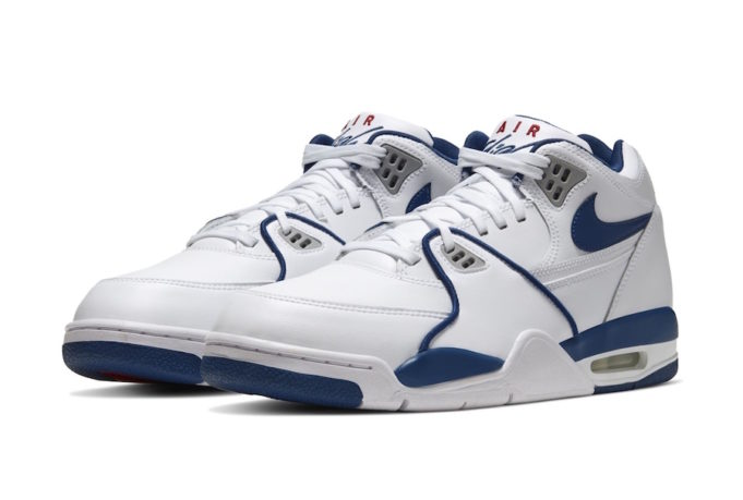 The Nike Air Flight '89 True Blue Returns To Close Out The