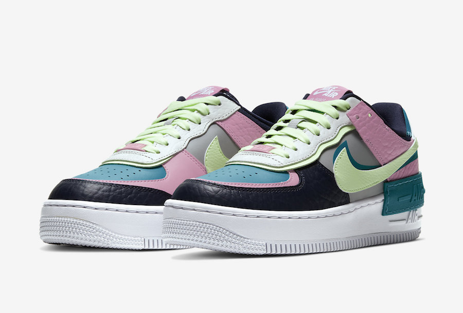 Pastel Tones Hit The Nike Wmns Air Force 1 Shadow Kicksonfire Com Hues of pinks, purples, blues and greens in materials such as matte plastic, leather and. nike wmns air force 1 shadow
