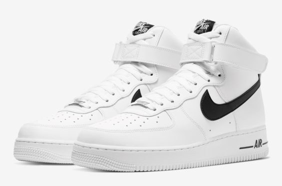 A Clean And Simple Look For This Nike Air Force 1 High