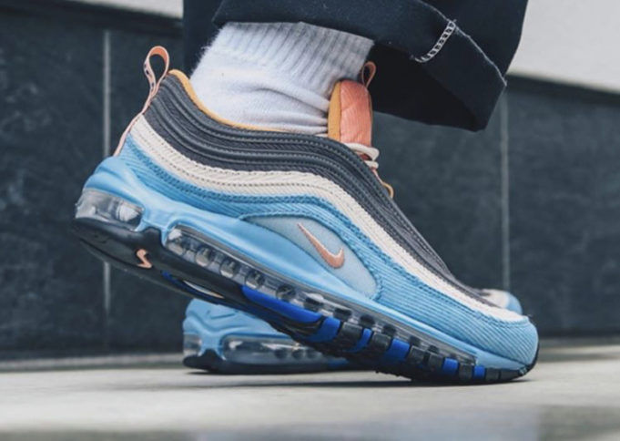 Look Out For The Nike Air Max 97 Corduroy Blue •