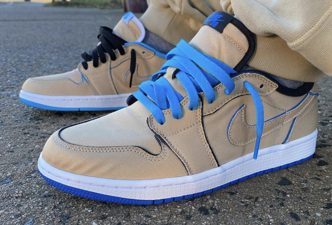 Doméstico Hacia Seducir  Buy The Nike SB x Air Jordan 1 Low Desert Ore Right Here • KicksOnFire.com
