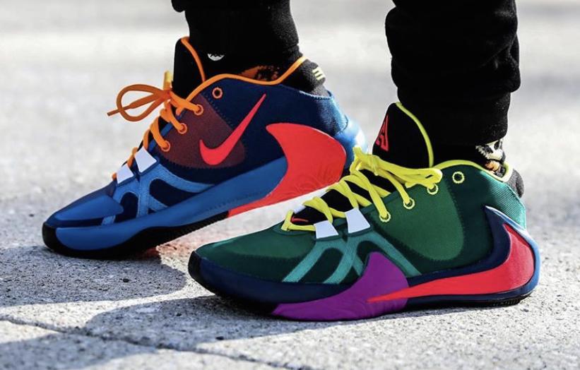Nike Zoom Freak 1 Multicolor Arriving