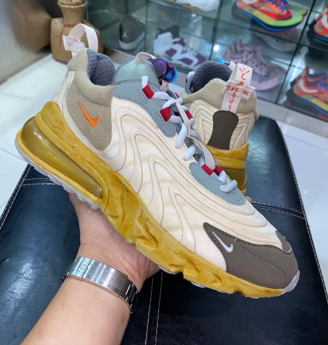 The Travis Scott x Nike Air Max 270 React Has Been Leaked