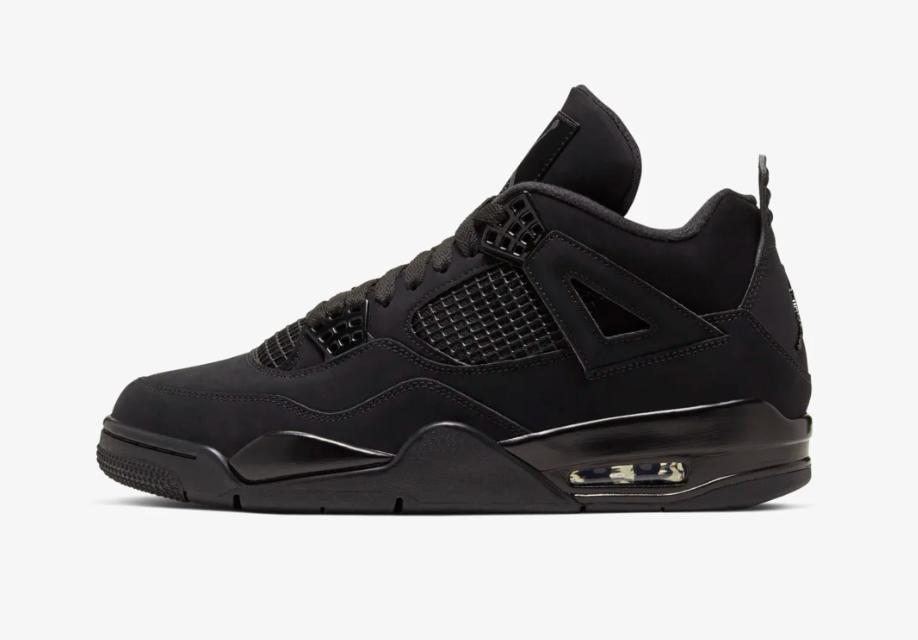 Air Jordan 4 Black Cat • KicksOnFire.com