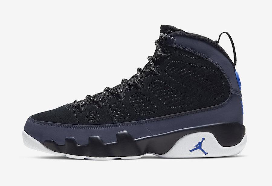 Air Jordan 9 Racer Blue • KicksOnFire.com