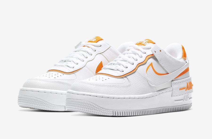 air force 1 avec du orange