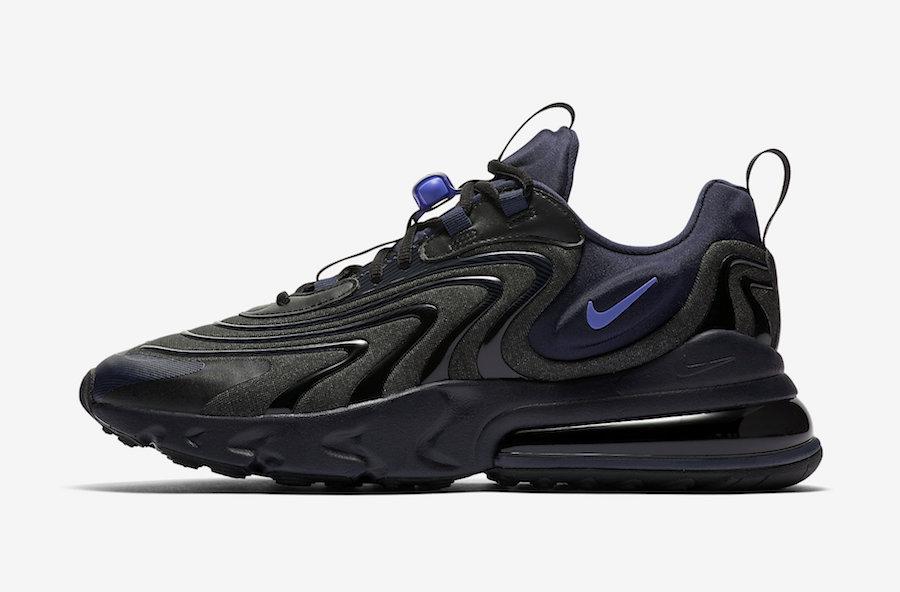 Release Date: Nike Air Max 270 React ENG Black Sapphire ...