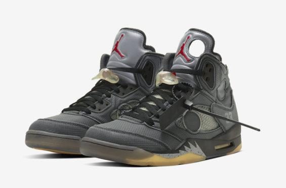 Official Images: Off-White x Air Jordan 5
