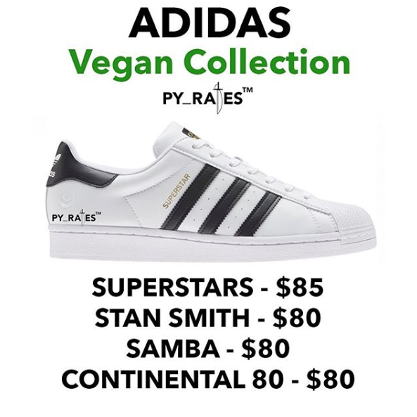An adidas Vegan Collection Will Debut This Year