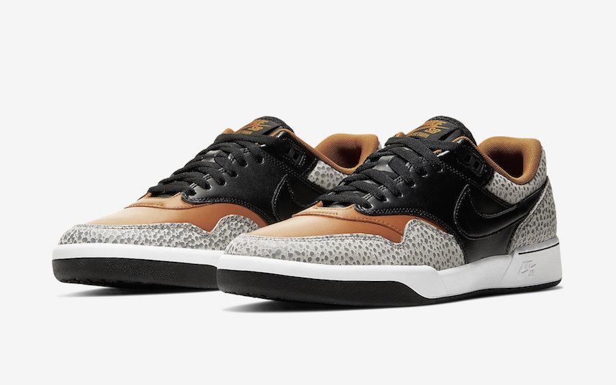 The Safari Theme Lands On The Nike SB GTS Return Premium