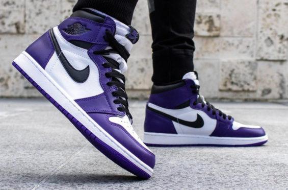 air jordan 1 retro high violette