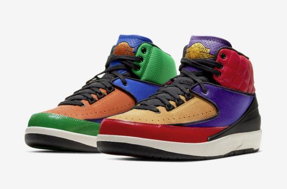 Official Images: Air Jordan 2 WMNS Multicolor