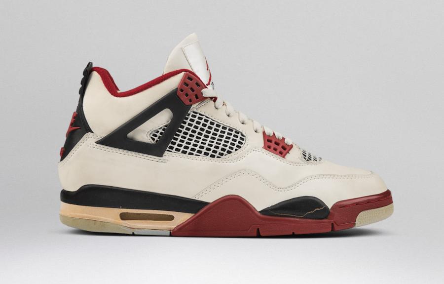 Air Jordan 4 OG Fire Red With Nike Air