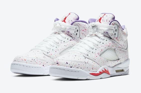 Official Images: Air Jordan 5 GS Easter