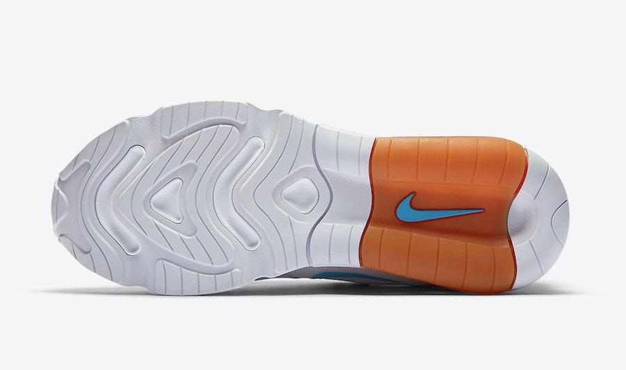nike air max 200 blue and orange