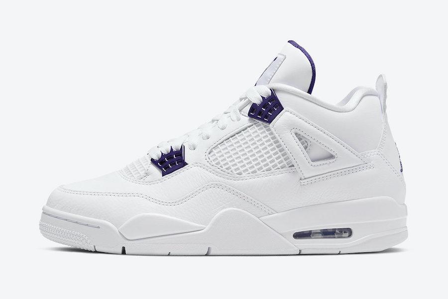Air Jordan 4 Purple Metallic (Court Purple) • KicksOnFire.com