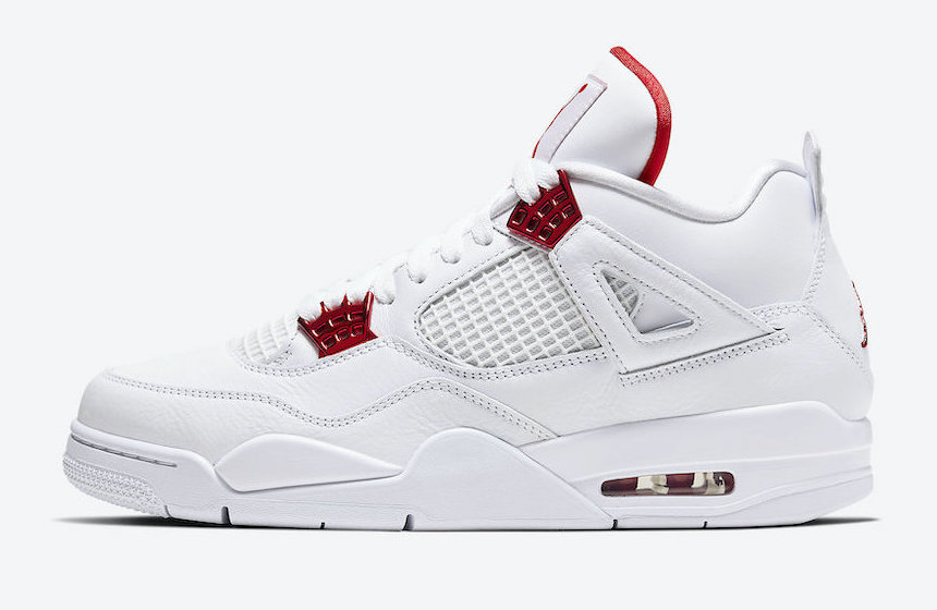 Air Jordan 4 Red Metallic • KicksOnFire.com