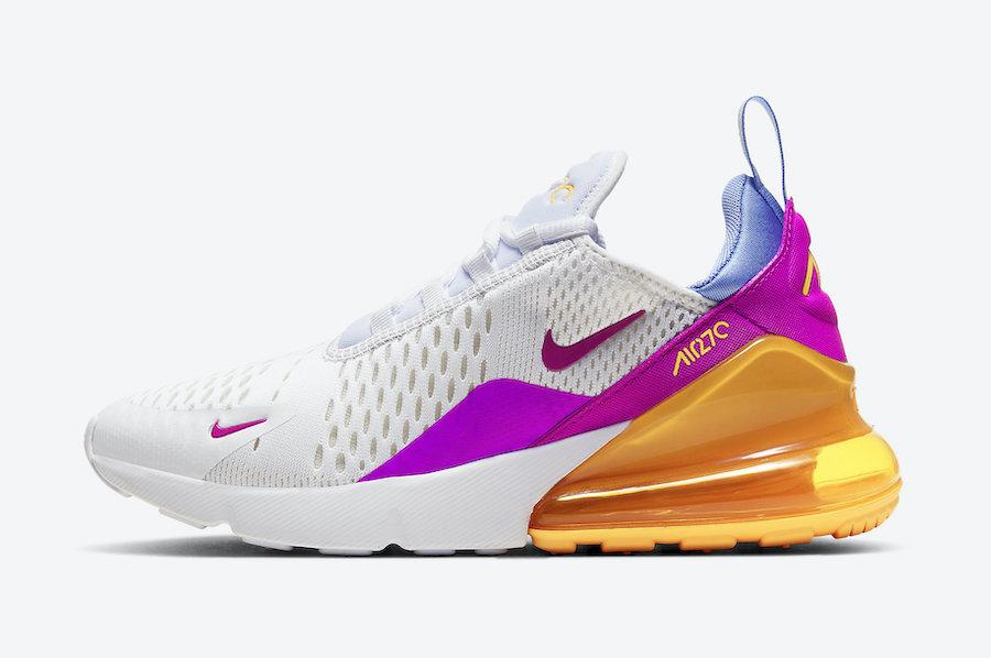 air max 270 de colores
